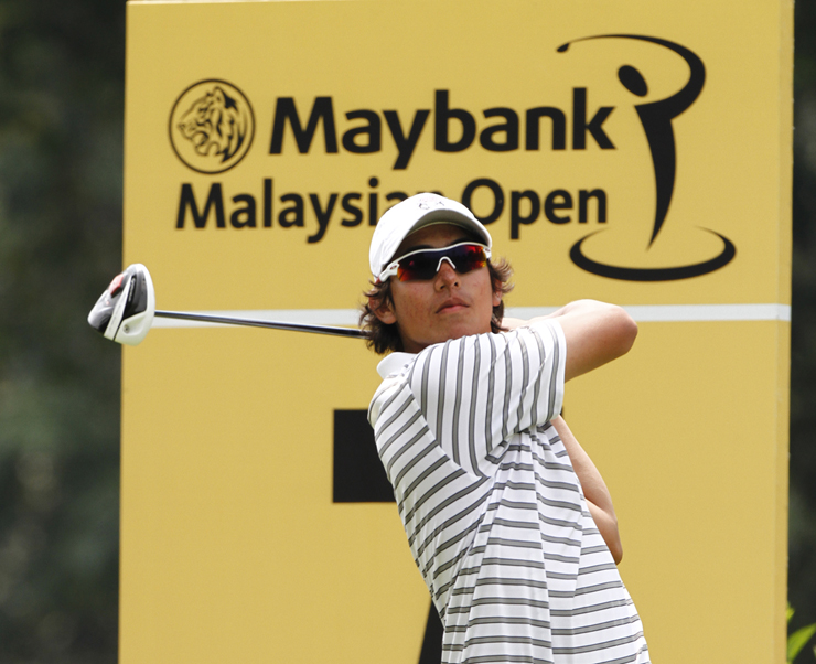 Malaysia's top leading amateur Gavin Kyle Green today confirmed that he will be coming home for the upcoming Maybank Malaysian Open in February 2015.