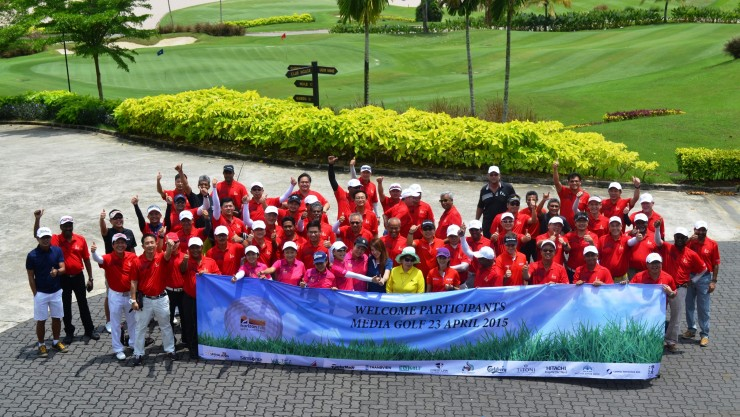 PARTICIPANTS OF THE MEDIA GOLF